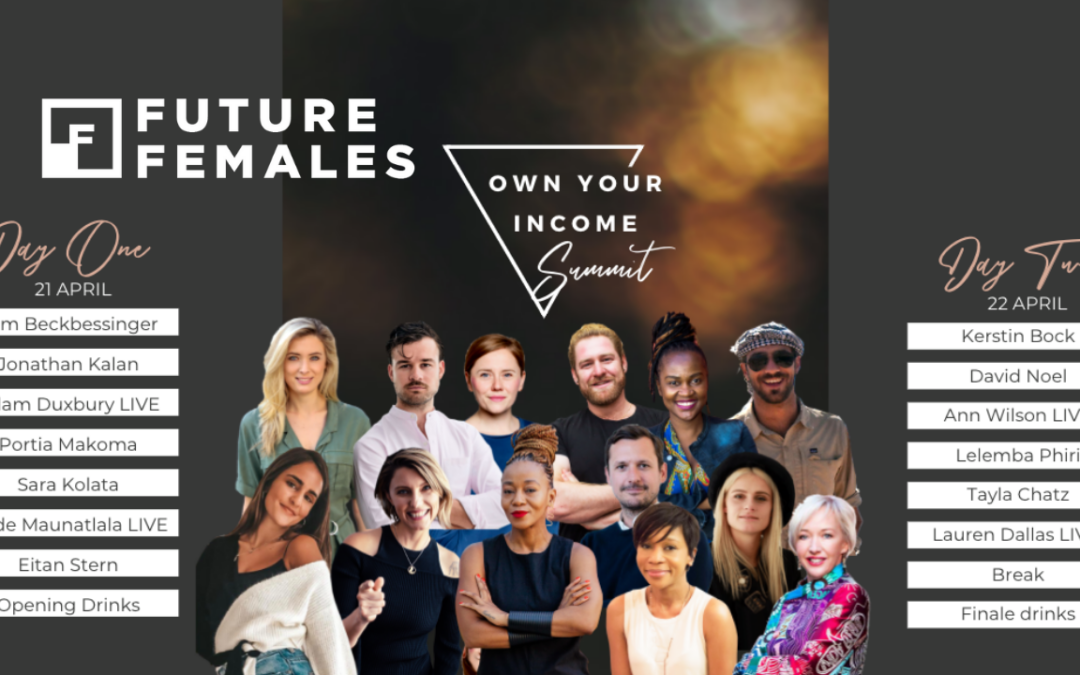 6,300 entrepreneurs tune into the Own Your Income Summit